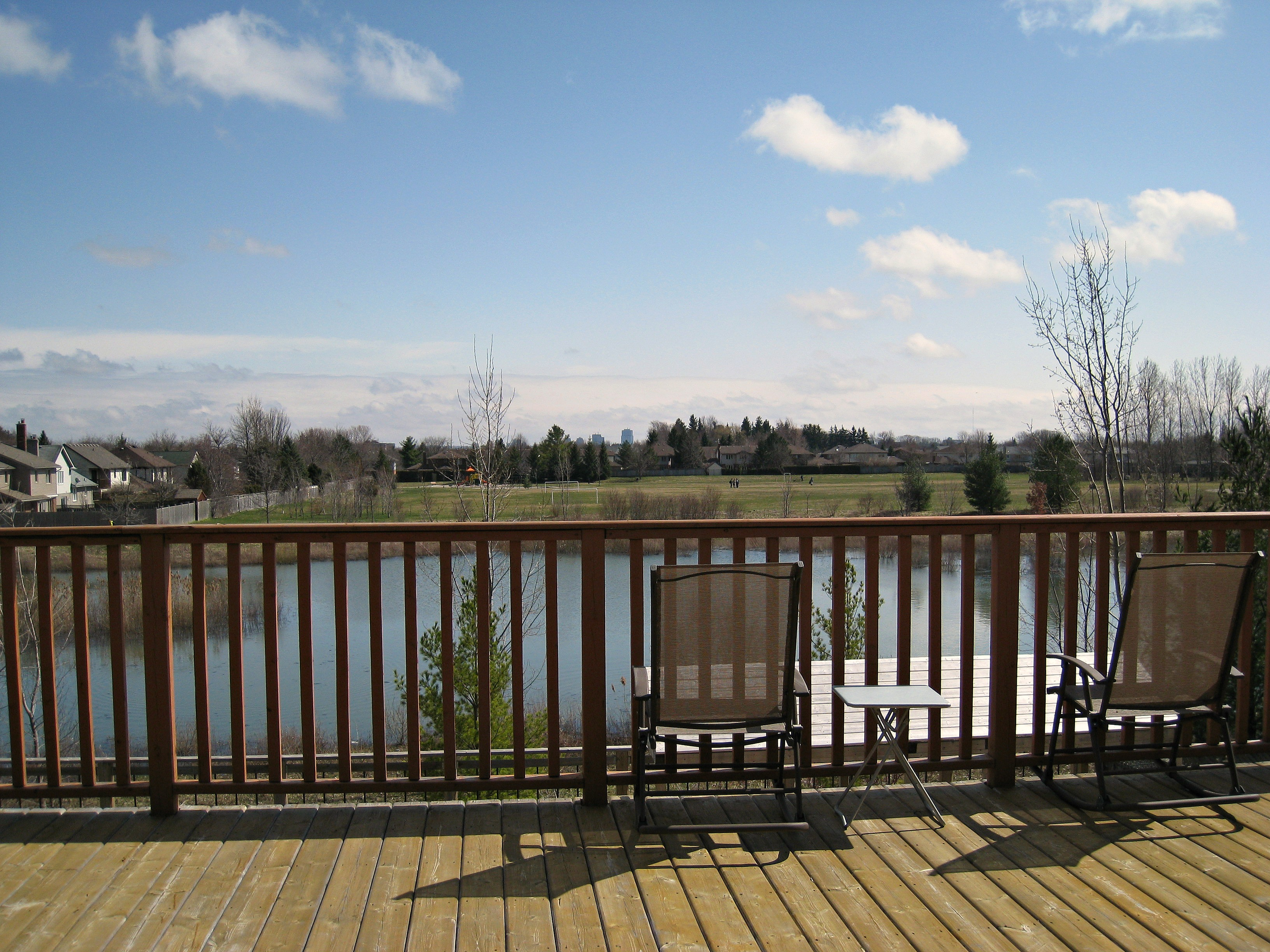 Outside Deck View
