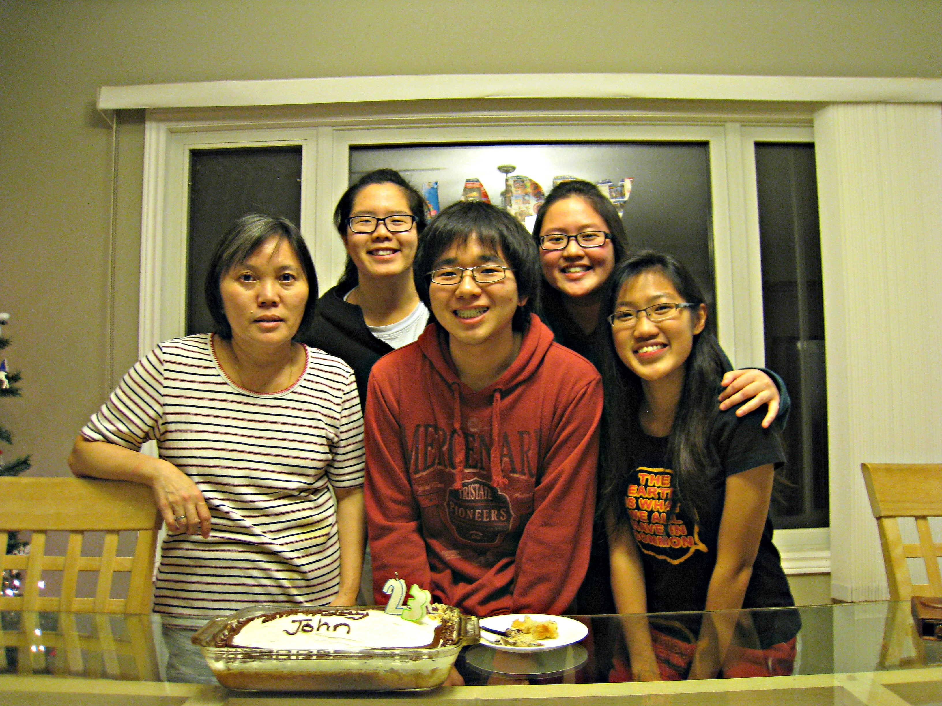 John's 23th Birthday Celebration